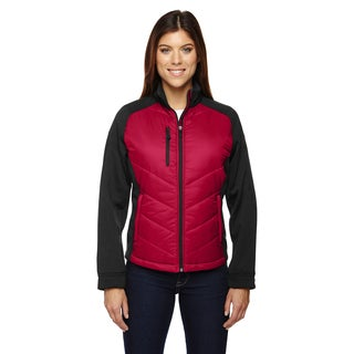 Epic Insulated Hybrid Bonded Women's Fleece Olympic Red 665 Jacket