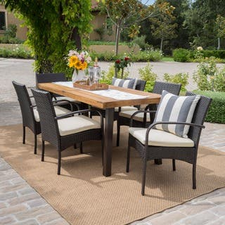 Modern & Contemporary Outdoor Dining Sets For Less | Overstock