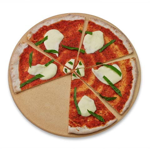 Honey-Can-Do Old Stone Oven 16-inch Round Pizza Stone
