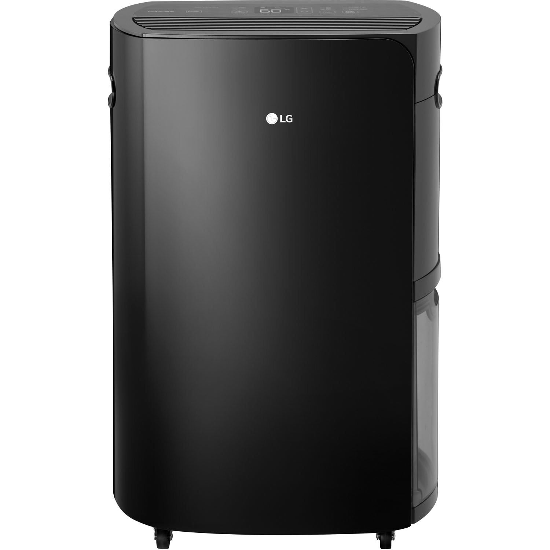 LG PuriCare Black Energy Star 70-pint Dehumidifier (Black)