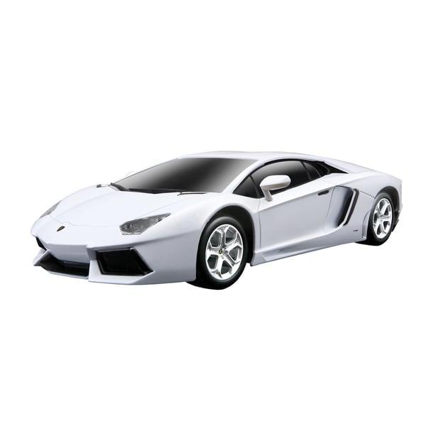 Shop Rastar White 1 14 Lamborghini Aventador Lp700 2 4ghz