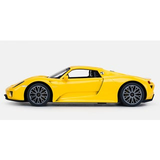 Rastar Yellow Porsche 918 Spyder 2.4GHz Replica