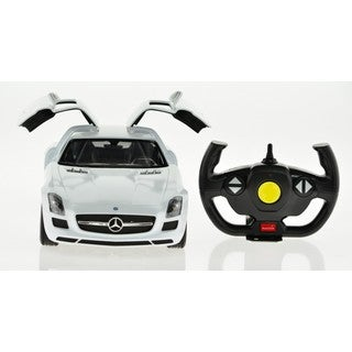 Rastar 1:14 White Mercedes-Benz SLS AMG 2.4 GHz Remote Control Car