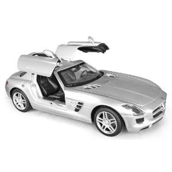 Rastar 1:14 Silver Mercedes-Benz SLS AMG 2.4GHz