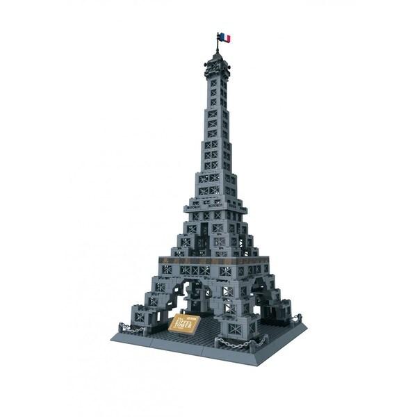Wange Eiffel Tower Brick Set