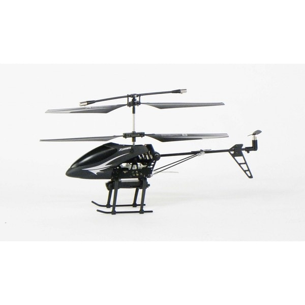 Feilun 3.5 Channel Dual-counter Rotating Black 2.4 GHz Camera Helicopter