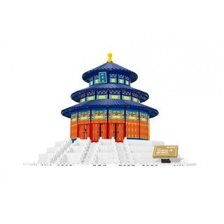 Wange The Temple of Heaven, China Brick Model