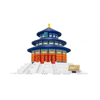 Link to Wange The Temple of Heaven, China Brick Model Similar Items in Building Blocks & Sets