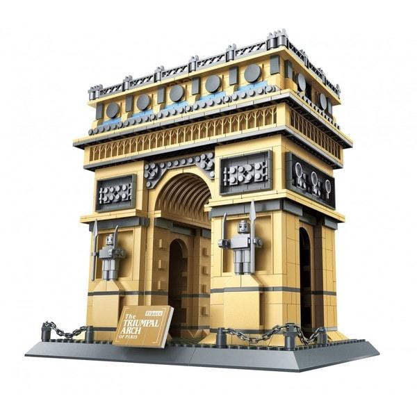 Wange The Triumphal Arch of Paris Interlocking Brick Set
