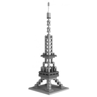 Wange Eiffel Tower Micro-brick Model