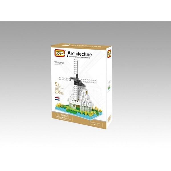 Wange Windmill Multi-colored AB Toy Block Set