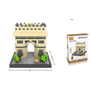 Link to Wange Multicolored ABS Triumphal Arch Micro Blocks Similar Items in Building Blocks & Sets