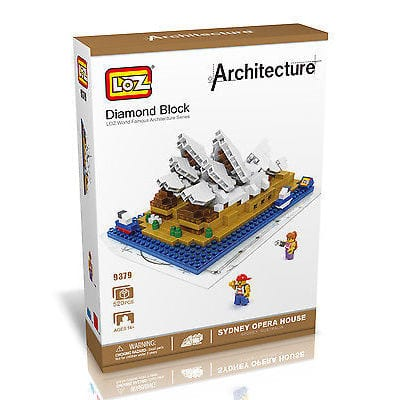 Wange Sydney Opera House Building Set