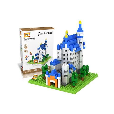 Wange Neuschwanstein Castle Block Set