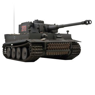 VS Tanks German Tiger I Gray 1:24 RC Tank