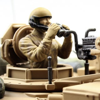 VS Tanks 1:24 Desert US M1A2 Abrams Remote Controlled Tank