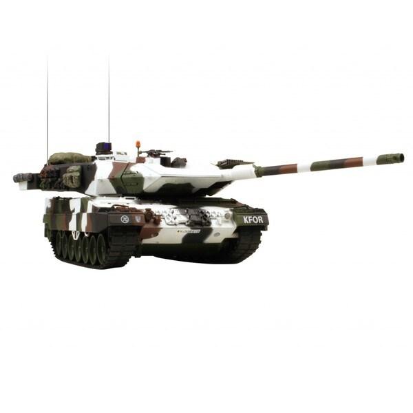 VS Tanks 1:24 Winter Camo German Leopard A6 Remote Control Tank