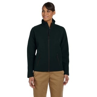 Bonded Women's Tech-Shell Duplex Black Jacket