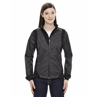 Commute Three-Layer Light Bonded Women's Two-Tone Soft Shell With Heat Reflect Technology Carbon 456 Jacket