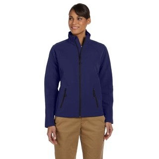 Bonded Women's New Navy Tech-Shell Duplex Jacket