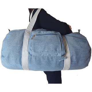 Sacs of Life Full-size Canvas Collapsable Duffel Bag