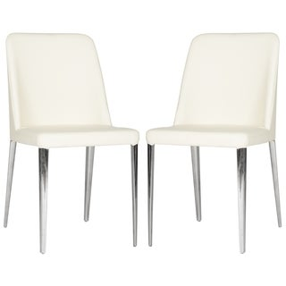Safavieh Metropolitan Dining Baltic Buttercream Side Chairs (Set of 2) (As Is Item)