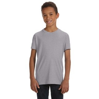 For Team Boys' 365 Performance Short-Sleeve Athletic Heather T-Shirt