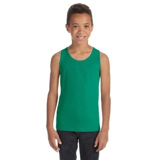 For Team Boys' 365 Mesh Sport Kelly Tank