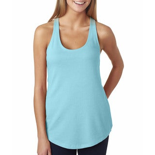 Next Level Women's The Terry Racerback Cancun Tank