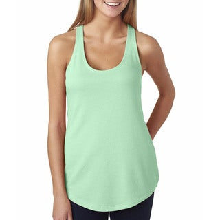Next Level Women's The Terry Racerback Mint Tank