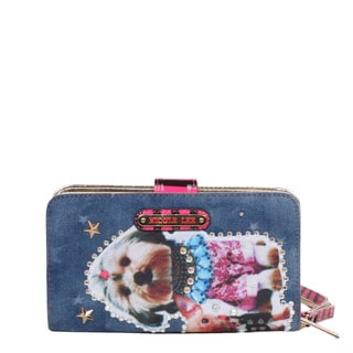 Nicole Lee Sidney 'Family Dog' Print Wallet