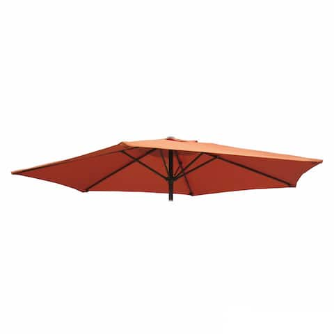International Caravan St. Kitts 8 ft. Replacement Patio Umbrella Canopy