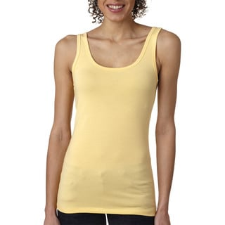 Next Level Women's Banana Cream The Jersey Tank