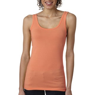 Next Level Women's Light Orange The Jersey Tank