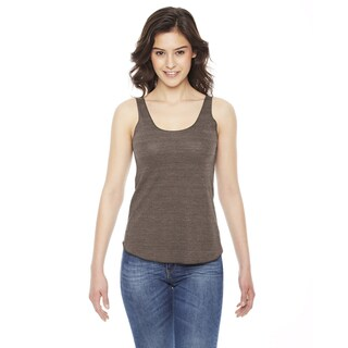 Triblend Women's Racerback Tri Coffee Tank