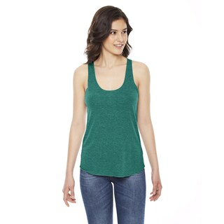 Triblend Women's Racerback Tri Evergreen Tank