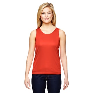 Women's Orange Training Tank