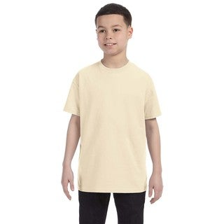 Boys' Natural Heavy Cotton T-shirt
