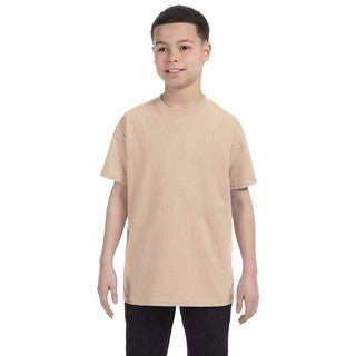 Heavy Cotton Boys' Sand T-Shirt (5 options available)