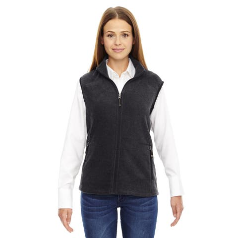 Voyage Women's Heather Charcoal 745 Fleece Vest