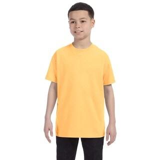 Heavy Cotton Boys' T-Shirt Yellow Haze Tank