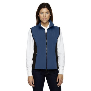 Three-Layer Women's Regata Blue 815 Light Bonded Performance Soft Shell Vest