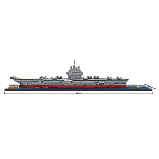 Wange Liaoning Chinese Aircraft Carrier Building-block Set