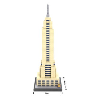 Link to LOZ Empire State Building Similar Items in Building Blocks & Sets