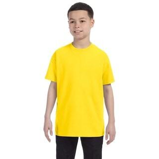 Gildan Boys' Daisy Heavy Cotton T-shirt
