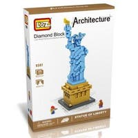 LOZ Multicolored ABS Plastic Statue of Liberty Block Set
