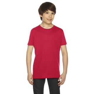 Fine Boys' Jersey Short-Sleeve Red T-Shirt