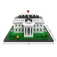 LOZ White House Micro-block Set