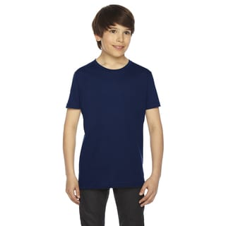 Fine Boys' Navy Jersey Short-Sleeve Boys' T-Shirt