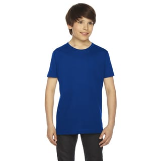 Fine Boys' Jersey Short-Sleeve Boys' Lapis T-Shirt